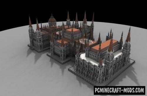 Palace - Building Map For Minecraft