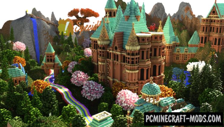 Special Effect Wonderland - Castle Map For MC