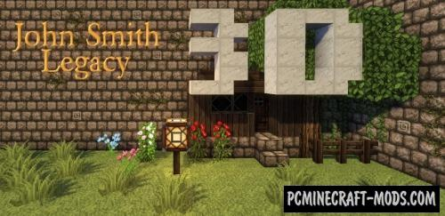 John Smith Legacy 3D 32x32 Resource Pack For Minecraft 1.14.4
