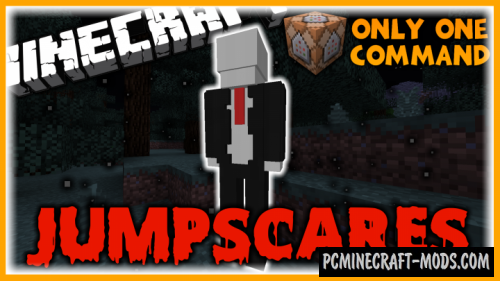 Jumpscares Command Block For Minecraft 1.10