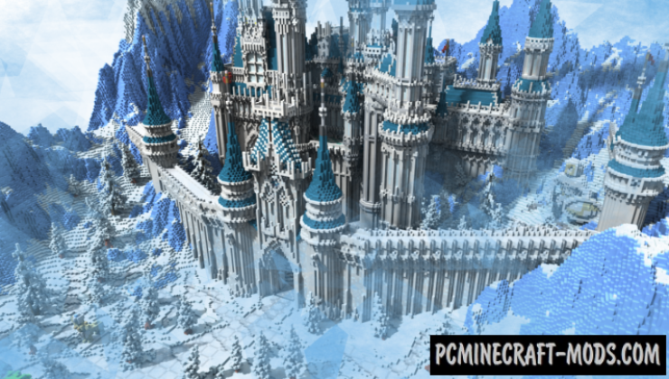 Crystal Palace Map For Minecraft 1 14 4 1 14 3 Pc Java Mods