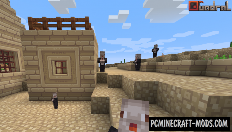 Quadral Resource Pack For Minecraft 1.14, 1.13.2, 1.12.2, 1.7.10
