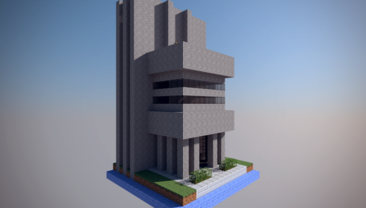 Chunk World - Buildings Map For Minecraft