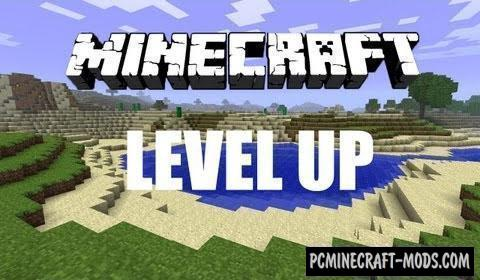 Level Up - GUI, Survival Mod For Minecraft 1.12.2, 1.8.9, 1.7.10