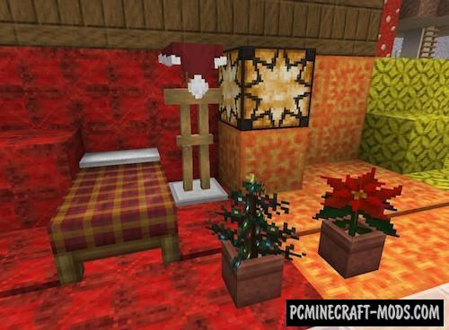 Lithos: Christmas 32x Resource Pack For MC 1.15.1, 1.14.4