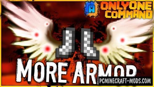 More Armor by IJAMinecraft Command Block Minecraft 1.10.2