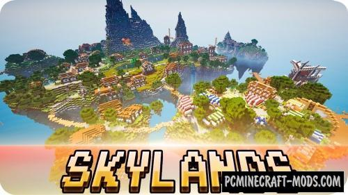 Skylands - Survival, City Map For Minecraft