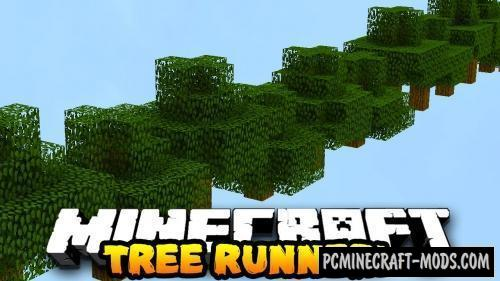 Tree Parkour Map For Minecraft