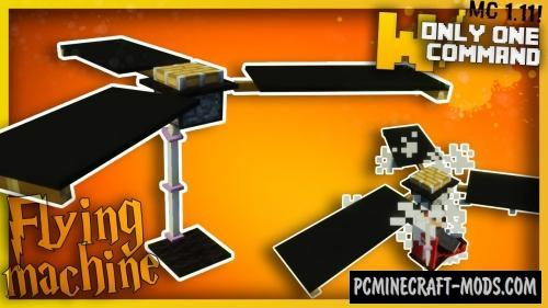 Flying Machine Command Block For Minecraft 1.10.2, 1.9.4