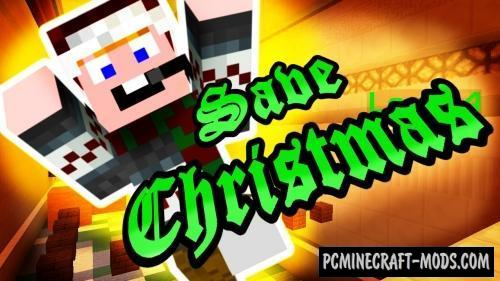 Save Christmas Map For Minecraft