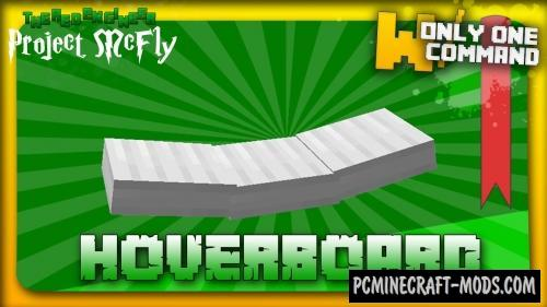Hoverboard Command Block For Minecraft 1.8.8, 1.8