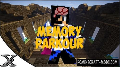 Raged Memory Parkour Map For Minecraft