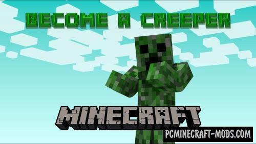 Creeper Morph Command Block For Minecraft 1.10.2