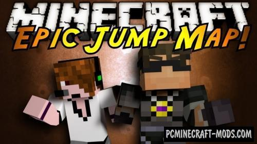 Jump Around - Parkour Map For Minecraft