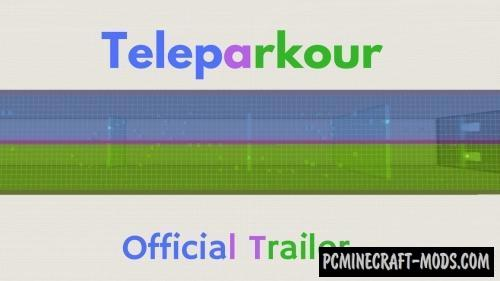 Teleparkour Map For Minecraft