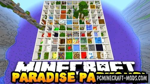 Parkour Paradise Caves Map For Minecraft