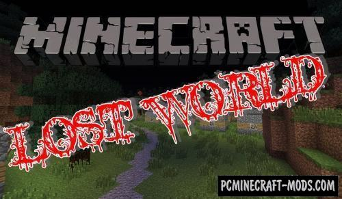 Lost World Parkour Map For Minecraft