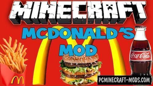 MinecraftDonalds - Food Mod For Minecraft 1.7.10