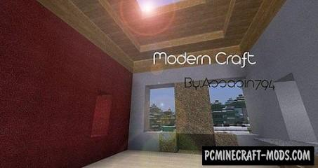 Modern Craft HD Resource Pack For Minecraft 1.7.10, 1.7.2, 1.6.4