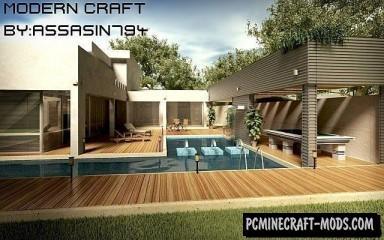 Modern Craft HD Resource Pack For Minecraft 1.7.10, 1.7.2