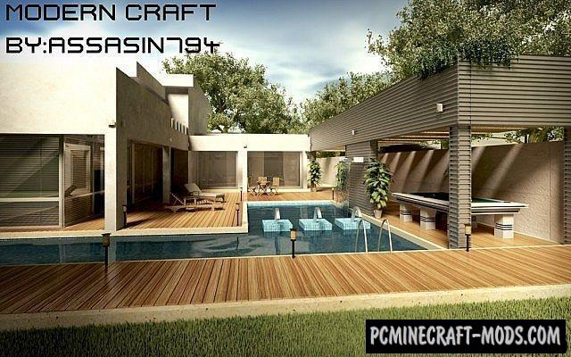 Modern Craft Hd Texture Pack For Minecraft 1 9 1 8 9 1 7 10 Pc Java Mods