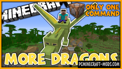 More Dragons Command Block For Minecraft 1.10