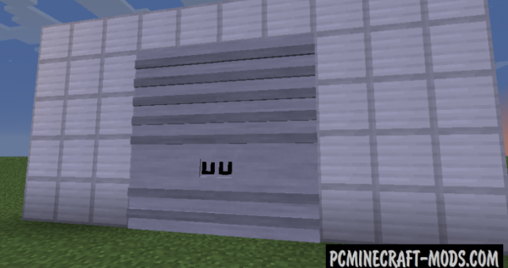 Tall Doors Mod For Minecraft 1.7.1, 1.6.4
