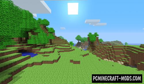 Nostalgia-Craft Resource Pack For Minecraft 1.7.10, 1.7.2, 1.6.4
