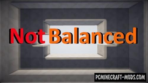 Not Balanced - Puzzle Map For Minecraft