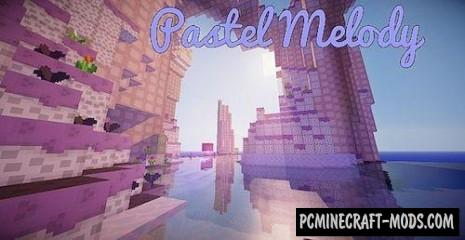 Pastel Melody Resource Pack For Minecraft 1.7.10, 1.7.9, 1.7.2