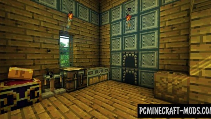 Peace Dimension Resource Pack For Minecraft 1.7.10, 1.7.2, 1.6.4