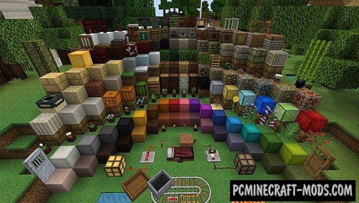 Persistence Resource Pack For Minecraft 1.12.2, 1.8.9, 1.8, 1.7.10