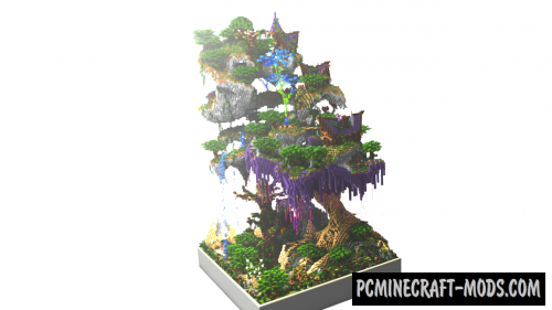 The Enchanted Forest - Terrain Map For Minecraft