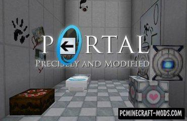 Portal Resource Pack For Minecraft 1.13, 1.7.10, 1.7.2, 1.6.4