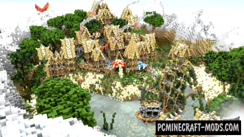 Medieval Village Map For Minecraft