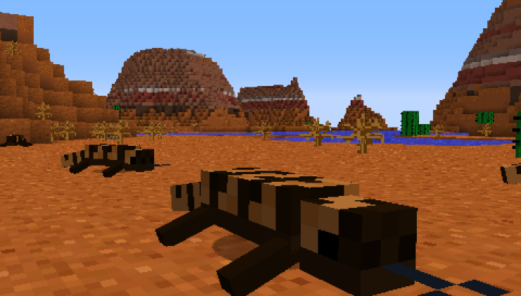 Reptile Mod For Minecraft 1.12.2, 1.11.2, 1.10.2, 1.7.10
