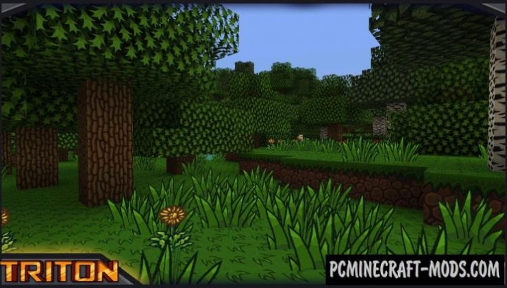 TRITON 128x Texture Pack For Minecraft 1.8.9, 1.7.10