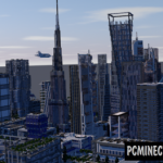 Downtown Los Angeles Map For Minecraft
