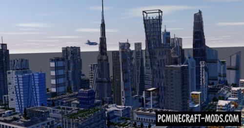 U.I.E. City Map For Minecraft