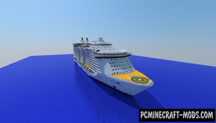 Harmony of the Seas - 3D Art Map For Minecraft