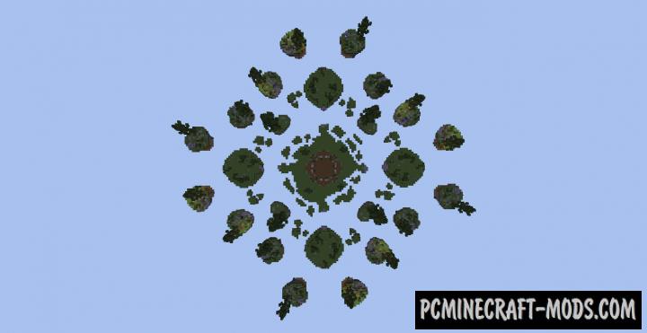 Mineplex SkyWars Fractal - Minigame Map For MC