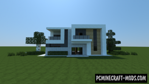 Small Modern House 4 Map For Minecraft 113 1122 PC Java Mods