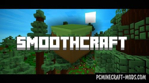 Smoothcraft 16x Texture Pack For Minecraft 1.10.2, 1.9.4, 1.8.9