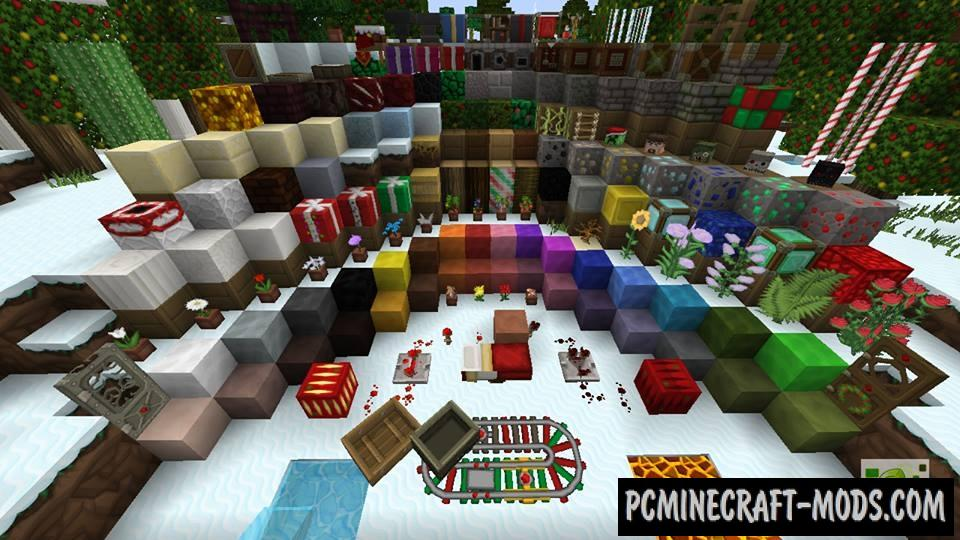 Sphax XmasBDcraft 2014 Resource Pack For Minecraft 1 8 1
