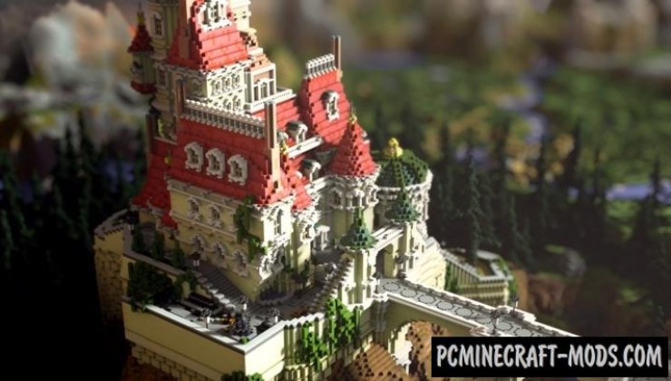 Beast's Enchanted Castle Map For Minecraft