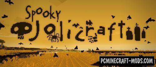 Spooky Jolicraft Resource Pack For Minecraft 1.8.9, 1.8