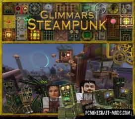Glimmar's Steampunk Resource Pack For Minecraft 1.7.10, 1.7.2, 1.6.4