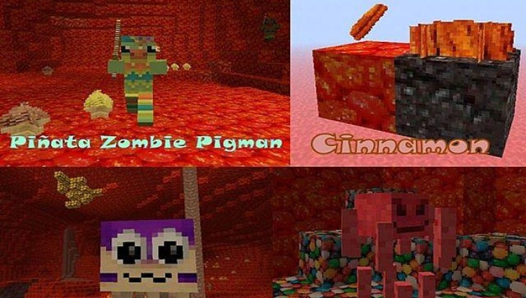 Sugarpack 32x Texture Pack For Minecraft 1.8.9, 1.7.10