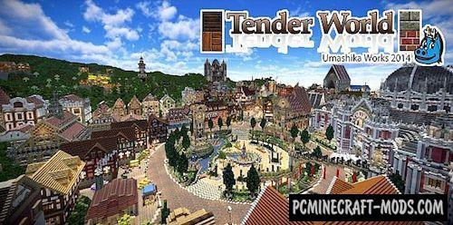 Tender World Resource Pack For Minecraft 1.7.10, 1.7.2, 1.6.4