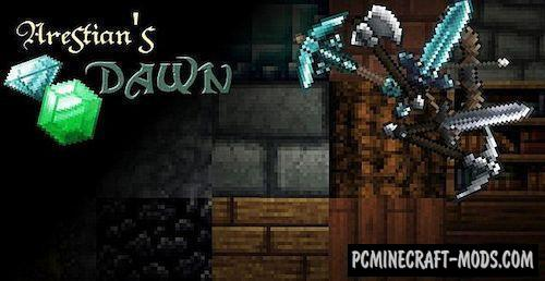 The Arestian's Dawn RPG Texture Pack For Minecraft 1.7.10